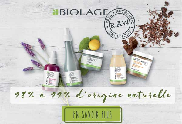 Biolage R.A.W. mobile banner