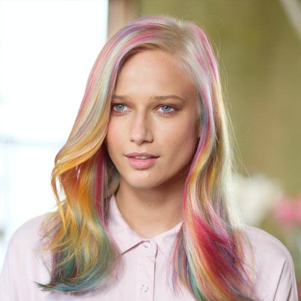 Color Melting Trend 2017 Ice Cream mauve hair