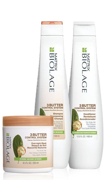 sugar shine shampoo conditioner spray routine biolage matrix